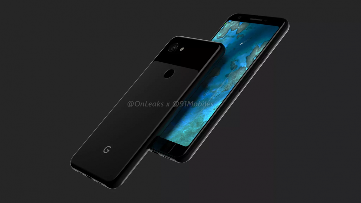 Renders of notchless Google Pixel 3 Lite/Lite XL with 3 5mm