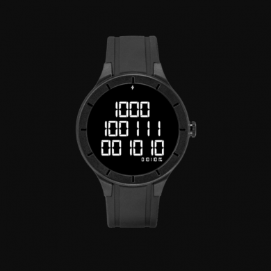 Binary Watch Face brings the 1s and 0s to your Wear OS smartwatch because why not