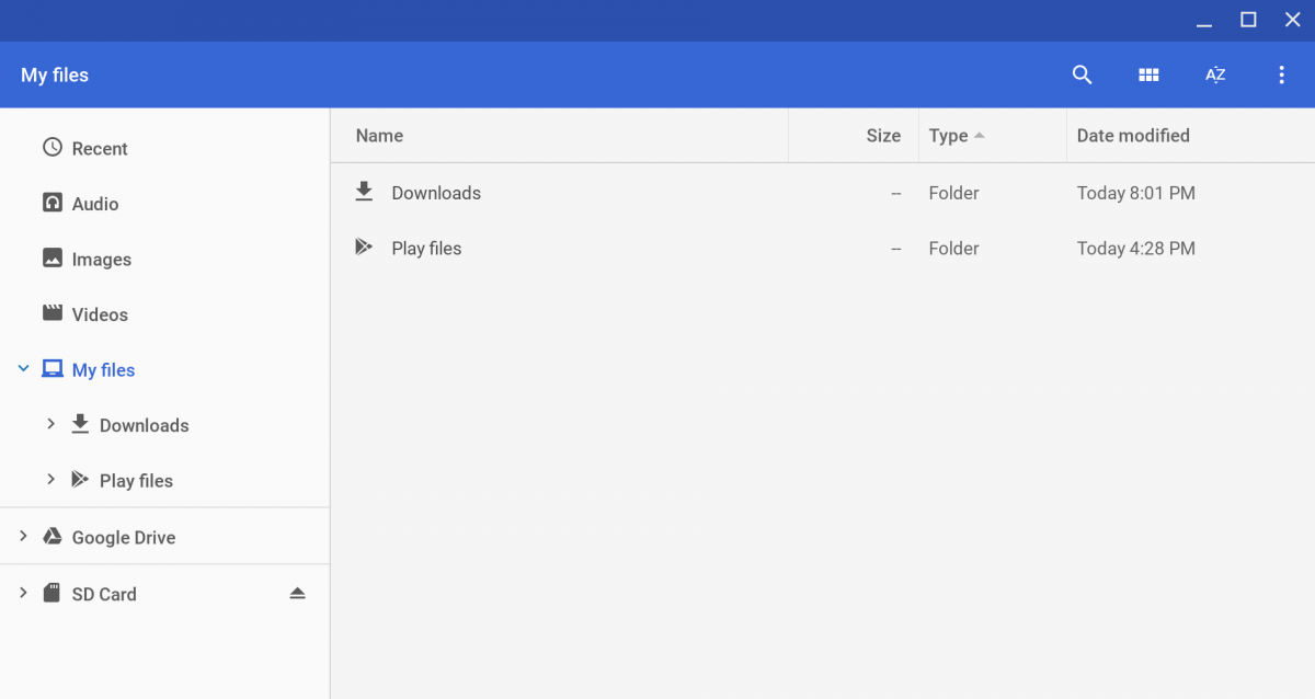Chrome OS 73 finally lets you add top-level folders other than Downloads
