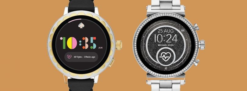 Fossil announces the Kate Spade Scallop Smartwatch 2 Collection and the Michael Kors Access Sofie Wear OS devices