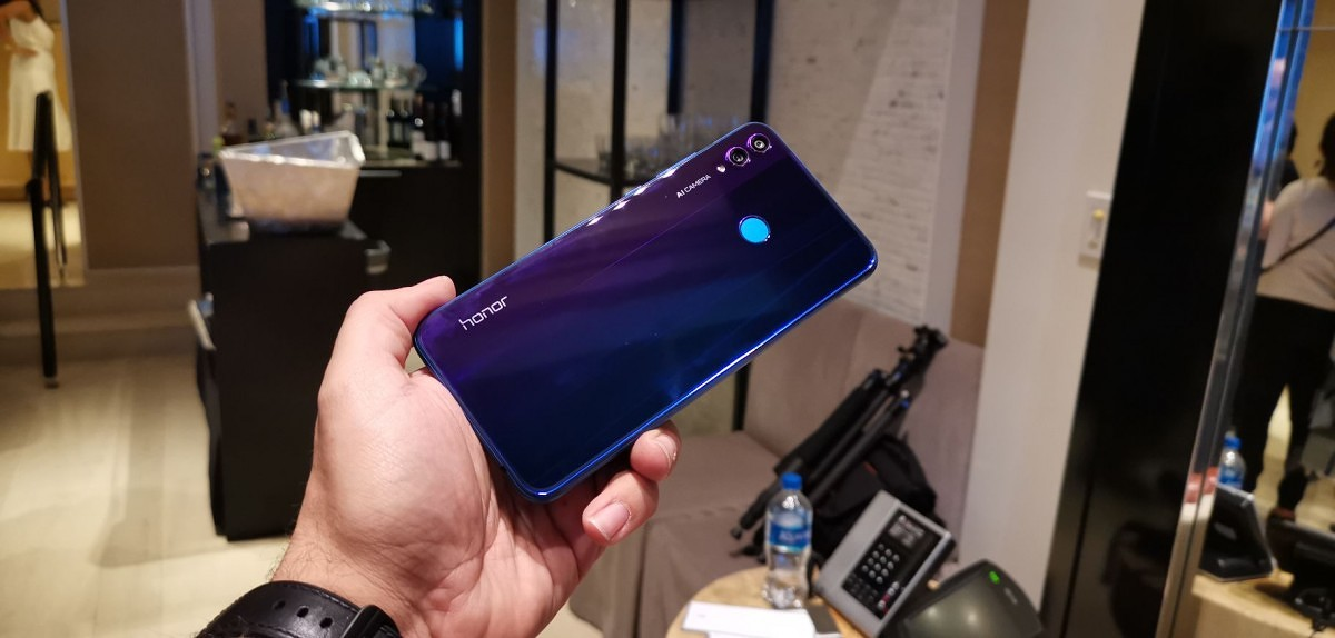 Honor 8X is launching soon in a new Phantom Blue color