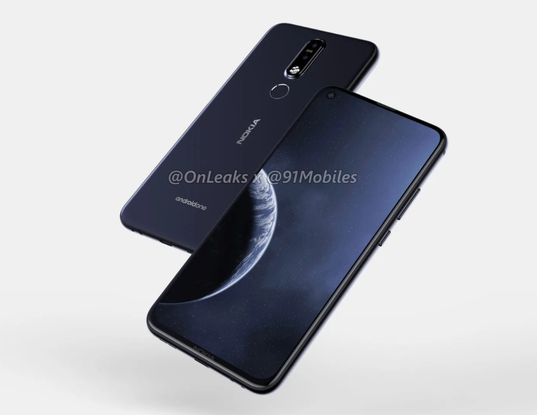 Alleged Nokia 8 1 Plus renders reveal display hole and dual