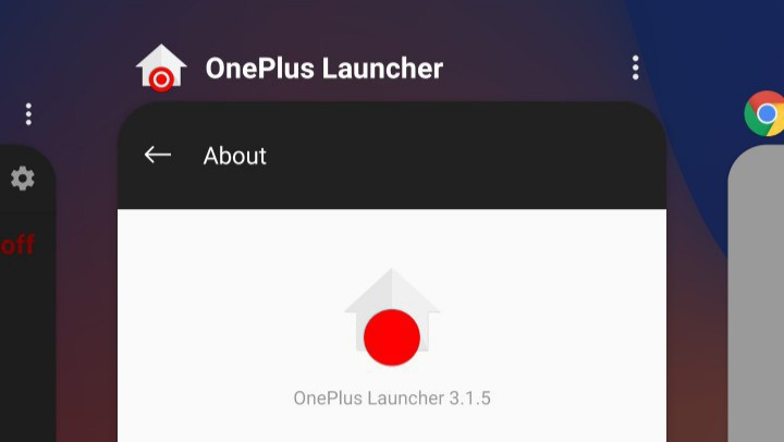 Get the OnePlus Launcher with its recent apps interface on any