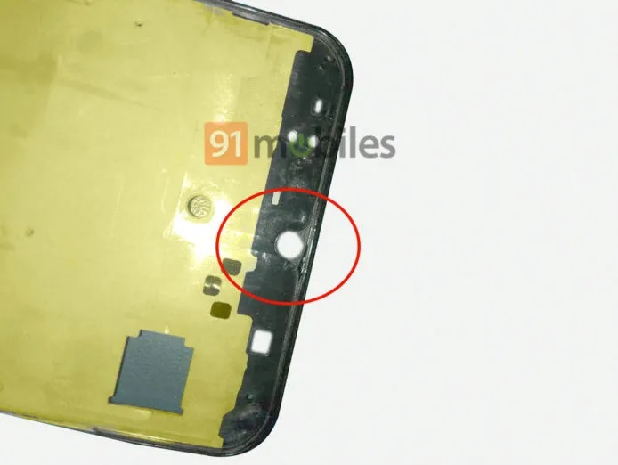 Samsung Galaxy A50 Frame Leak Reveals Waterdrop Notch In Display Fingerprint Scanner Triple Rear Cameras