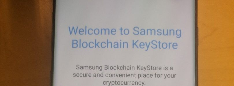 Samsung Galaxy S10 leaks again with a Blockchain KeyStore for cryptocurrency wallets