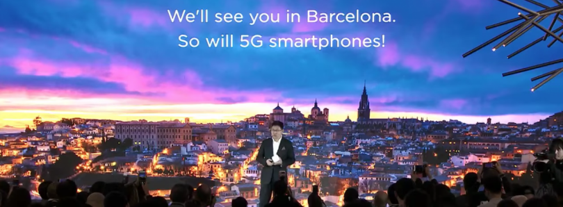Huawei's foldable 5G smartphone will be announced next month