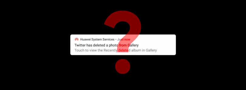 Huawei says a bug caused EMUI to delete pictures saved from Twitter