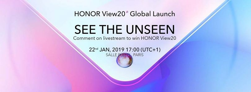 Countdown to the Honor View20 Launch in Paris