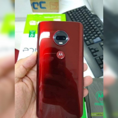 Leaked images of Motorola Moto G7 Plus showcase 27W fast charging and OIS