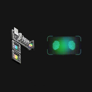 OPPO has developed a 10x hybrid optical zoom camera and better optical in-display fingerprint scanners