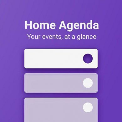 Calendar Widget by Home Agenda Lite is a customizable calendar widget for your events