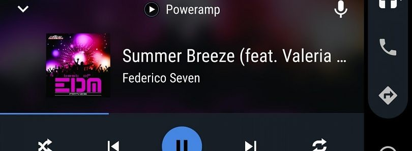 Poweramp gets Android Auto support and improved Google Assistant integration