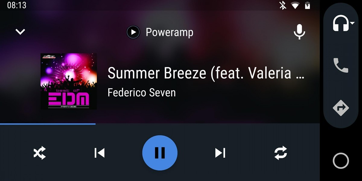 Poweramp gets Android Auto support and improved Google