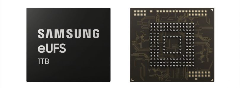 Samsung is now making 1TB UFS chips for mobile devices