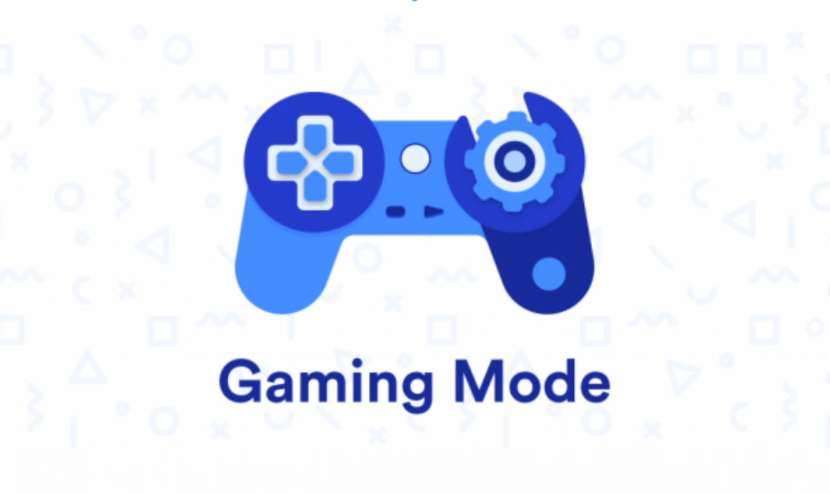 Gaming Mode is an app that automatically configures settings