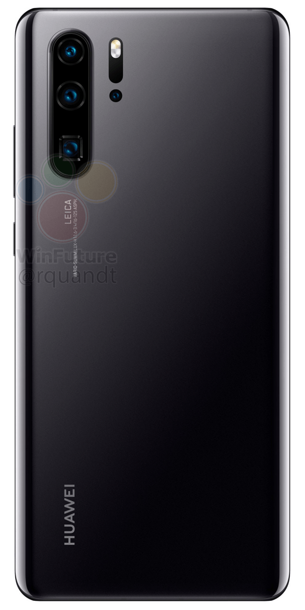 Huawei P30 Pro press renders leak, expect triple cameras and