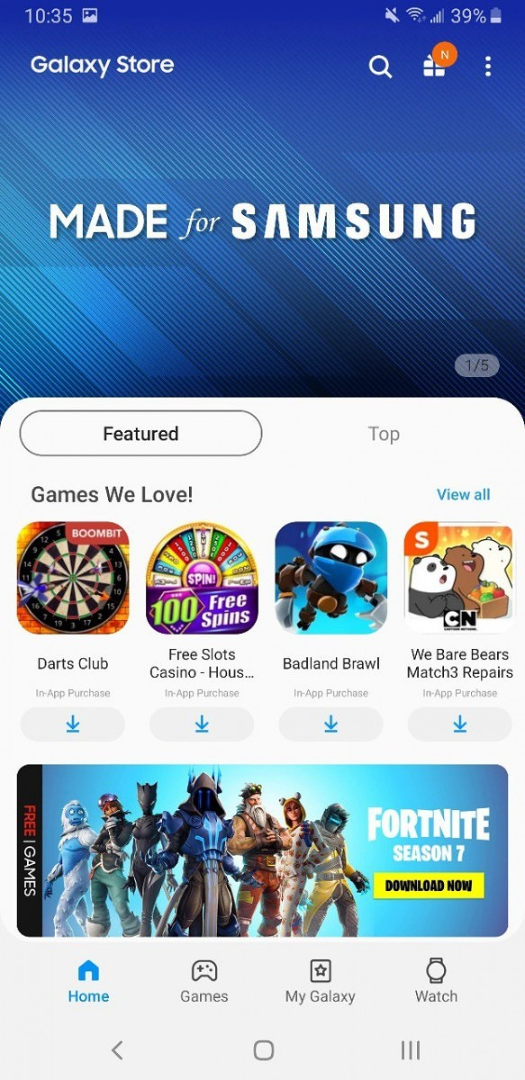 Galaxy Apps gets rebranded to 'Galaxy Store' ahead of Samsung Unpacked