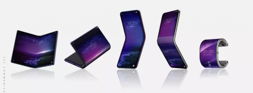 TCL may be working on a smartphone that folds into a smartwatch