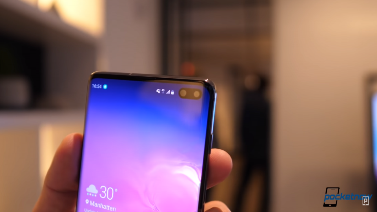 Samsung Galaxy S10+'s first update adds Bixby button