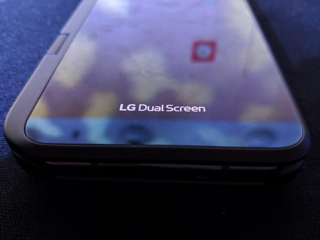 The LG V50's Dual Screen Attachment is LG's Foldable Phone