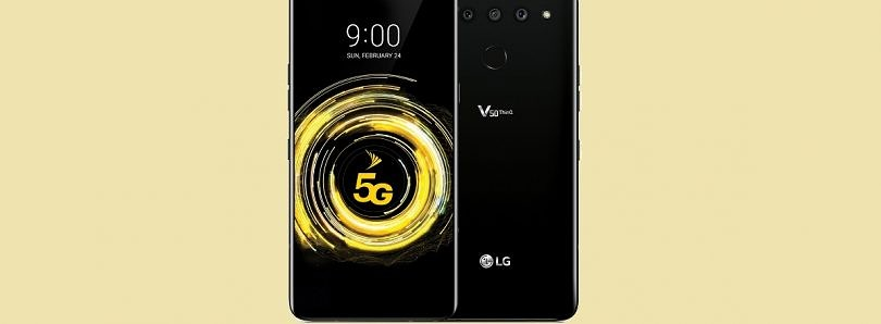 The LG V50 ThinQ is a revamped V40 with the Qualcomm Snapdragon 855, a 4000mAh battery, and 5G