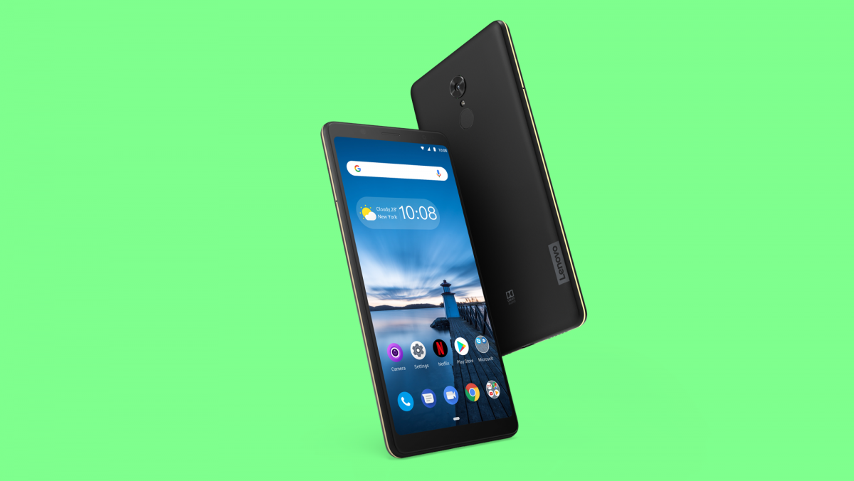 The Lenovo Tab V7 is a budget phone with a huge 6 9