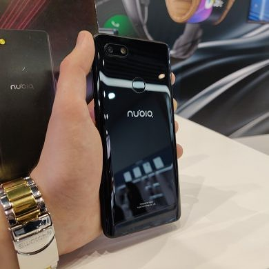 Hands-on with the smallest 5G phone, the Nubia Mini 5G
