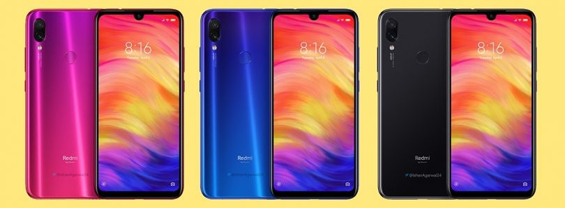 Xiaomi Redmi Note 7 and Note 7 Pro (India) renders leak online, while Redmi Note 7 Pro (China) passes through TENAA