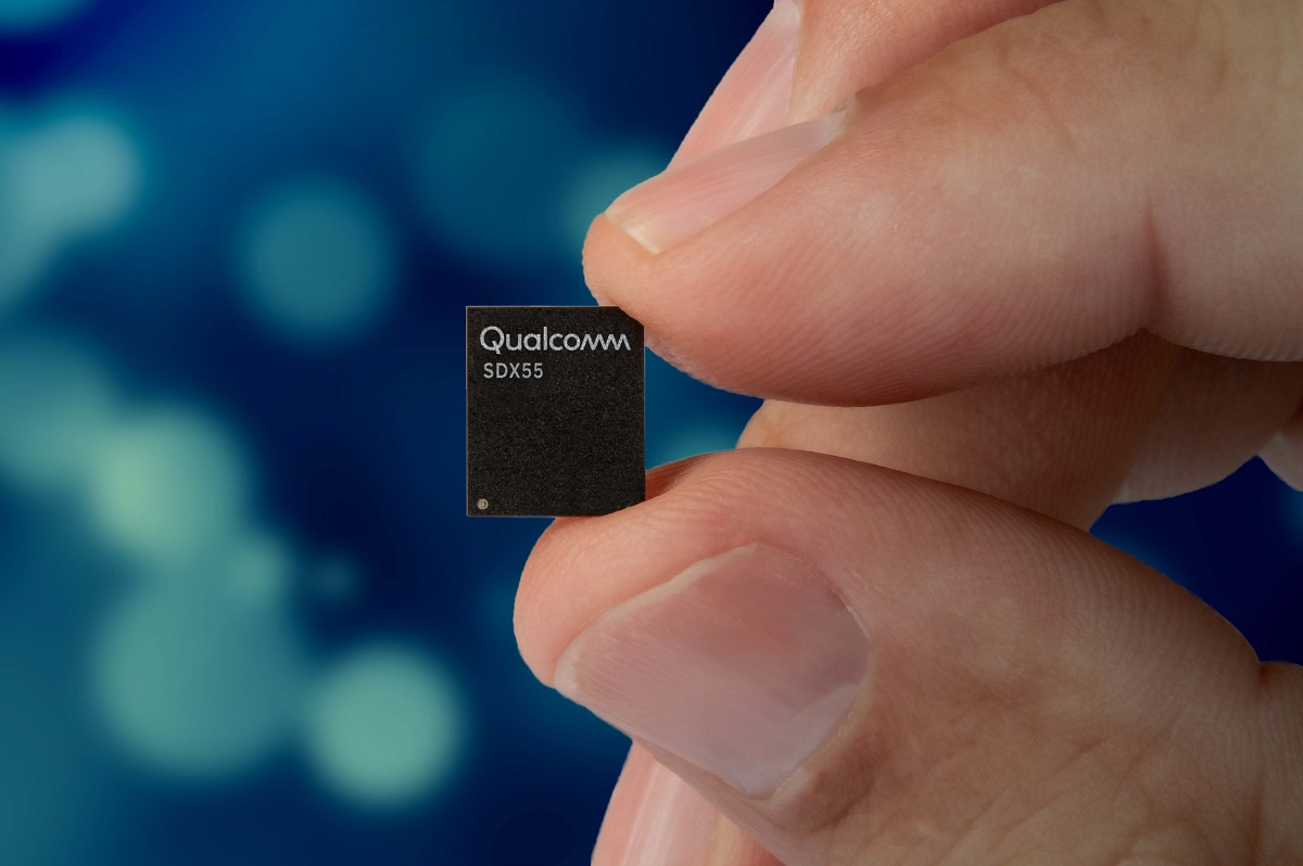 Image result for Qualcomm snapdragon x55 second generation smartphone modem announced ahead of MWC