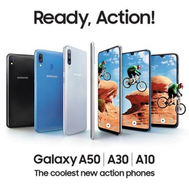 Samsung launches the Galaxy A10, Galaxy A30, and Galaxy A50 in India