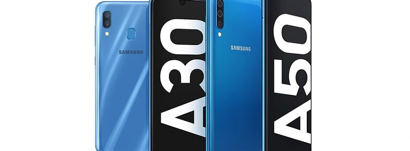 Samsung announces the mid-range Galaxy A50 and Galaxy A30 with Infinity-U displays