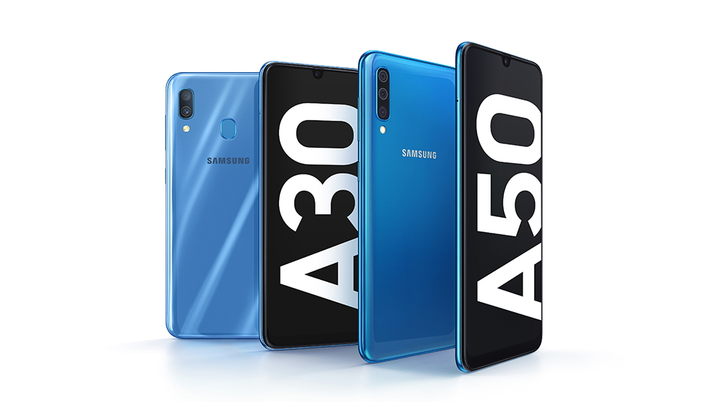 Samsung announces the mid-range Galaxy A50 and Galaxy A30 with