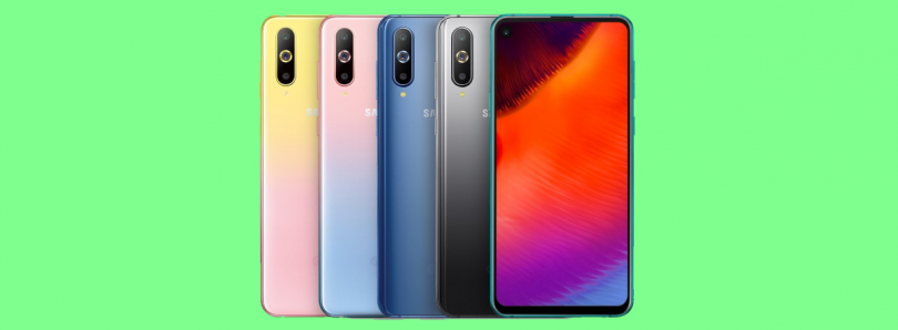 Samsung Galaxy A8s with the punch hole display now comes in new gradient color designs