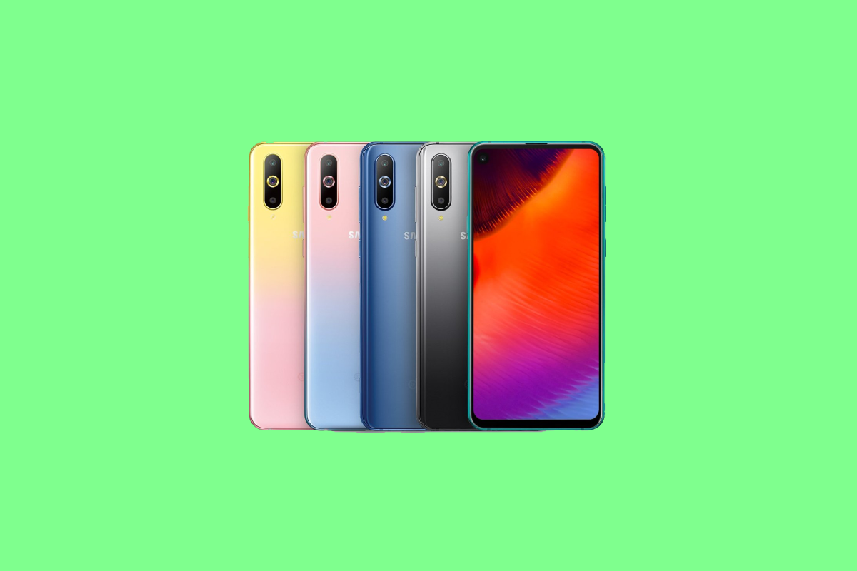 8d3e7bd14673b0 Samsung Galaxy A8s with the punch hole display now comes in new gradient  color designs