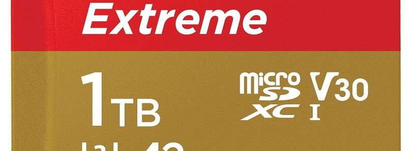 MicroSD cards with 1TB of storage are on the way