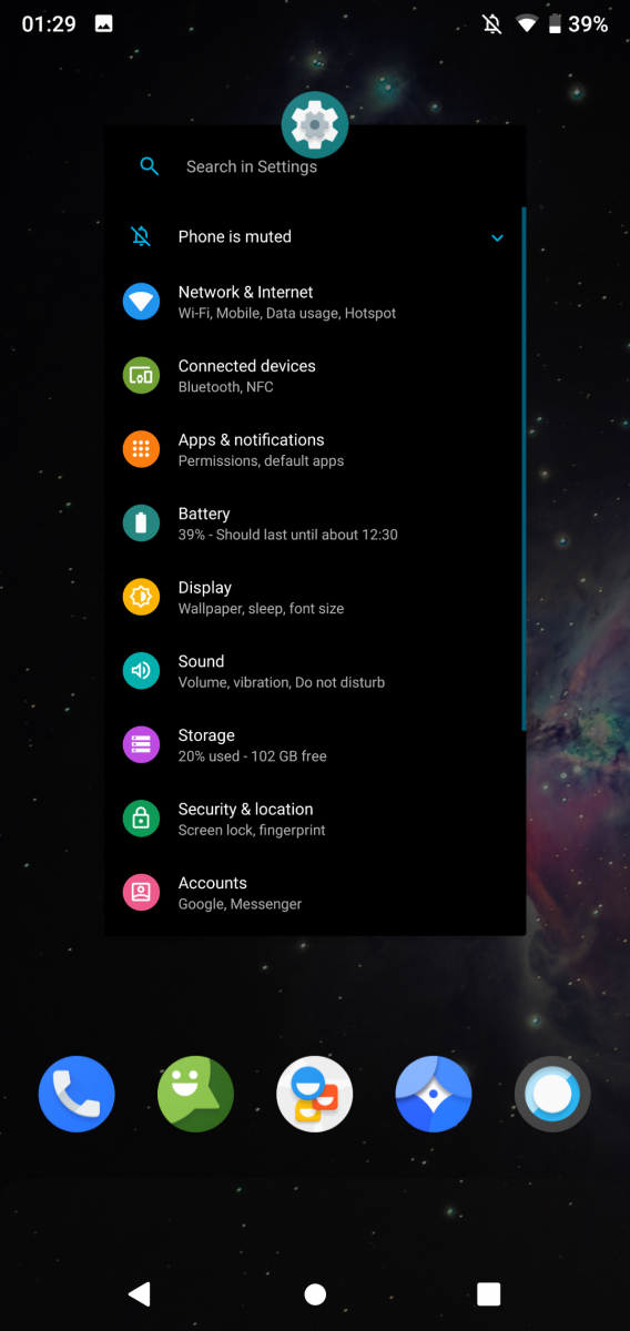 Hands-on review of the LineageOS 16 custom ROM based on