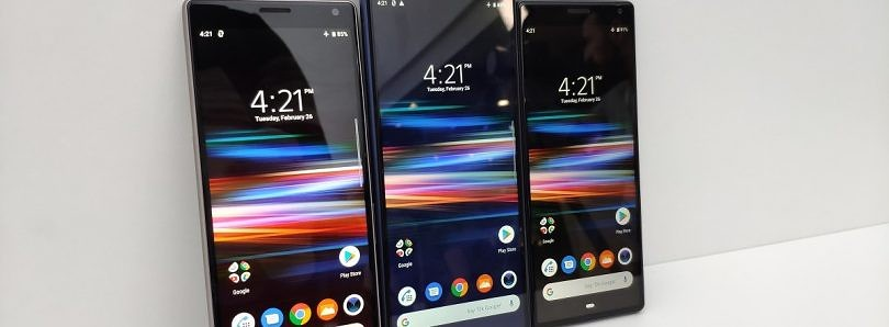 Download the live wallpaper from the Sony Xperia 1