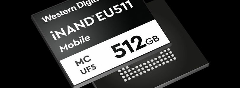 Western Digital announces UFS 3.0 storage drives for high-end smartphones