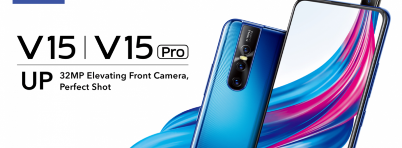 [Update: 8GB Model Launched] Vivo V15Pro launches in India with a 32MP pop-up front camera, 48MP rear triple camera setup, in-display fingerprint scanner, and Qualcomm Snapdragon 675