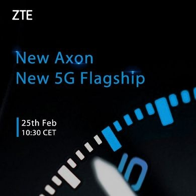 With the ZTE Axon 9 Pro nowhere to be seen in the US, ZTE is preparing to launch the Axon 10 Pro