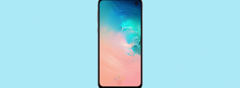 Samsung Galaxy S10e leaked renders reveal a smaller, more affordable model