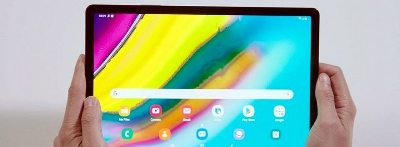 Samsung Galaxy Tab S5e is a lightweight tablet with 10.5-inch AMOLED display