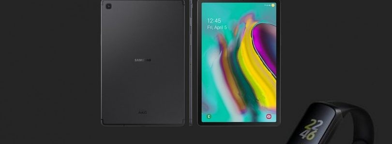 Samsung Galaxy Tab S5e and Galaxy Fit leak, new tablet and wearables could launch next week