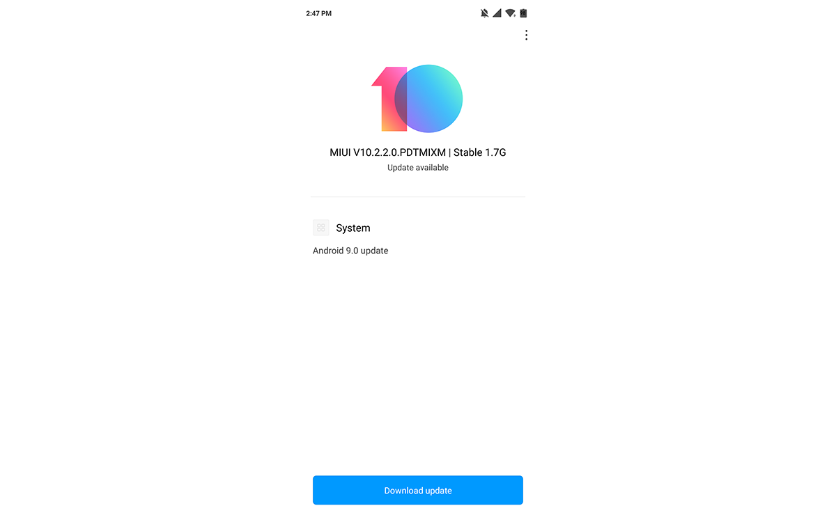 Xiaomi Mi 8 Lite's stable Android Pie-based MIUI 10 Global