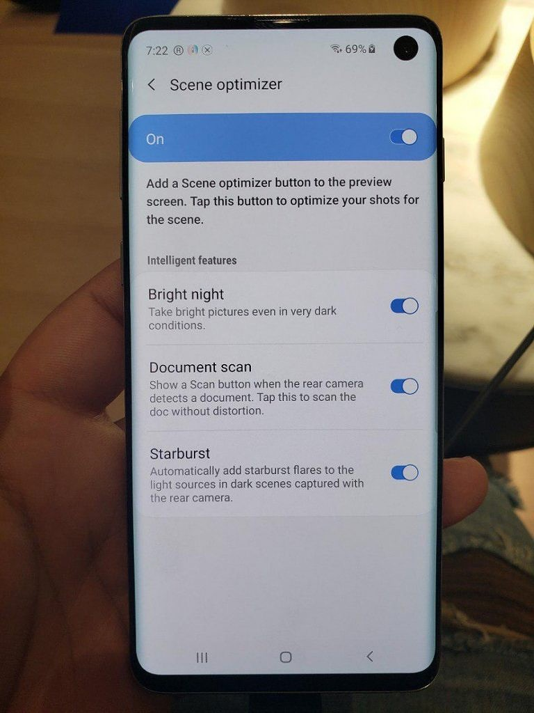 Here's all the Minor New Software Features on the Samsung