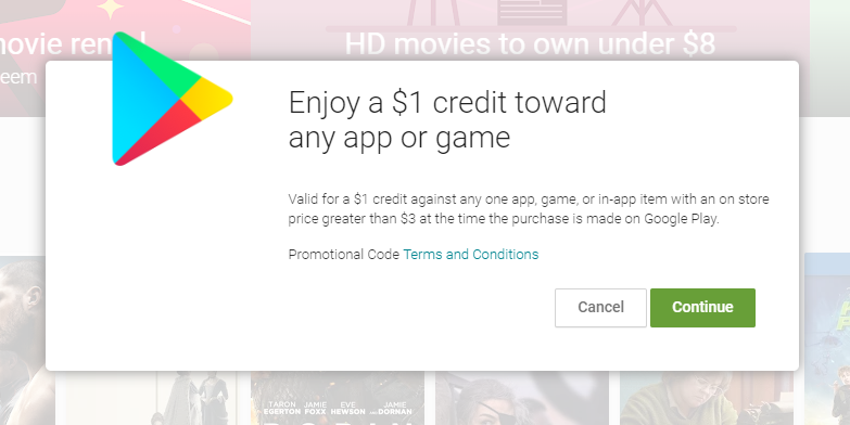 f54a6e90460 Google celebrates Valentine's Day with $1 toward any app/game over $3 in the  Play Store