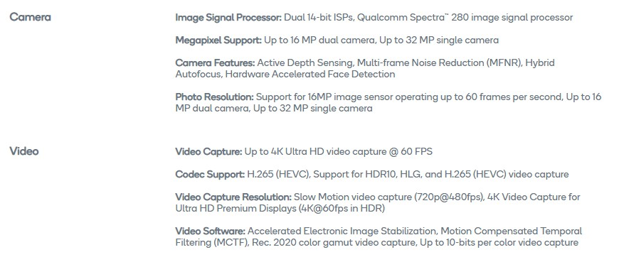 The system-on-chip in mobile devices play a really important role in image processing. There's a variety of imaging sensors for mobile platforms, but device makers can't simply slap together any sensor they want with any SoC of their choice. The Image Signal Processor (ISP) in the SoC is responsible for many things like demosaicing, autofocus,