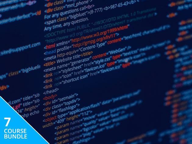 Become a full stack web developer with 46+ hours of training