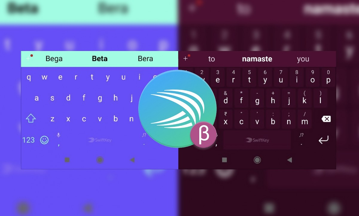 SwiftKey Beta now colors the navigation bar to match the