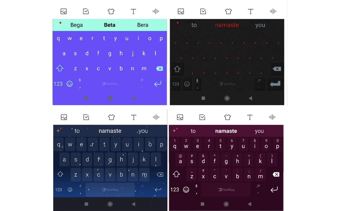 d11b30d7464 SwiftKey Beta now colors the navigation bar to match the keyboard ...